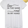 Toes In The Sand Tee - Unhinged Boutique