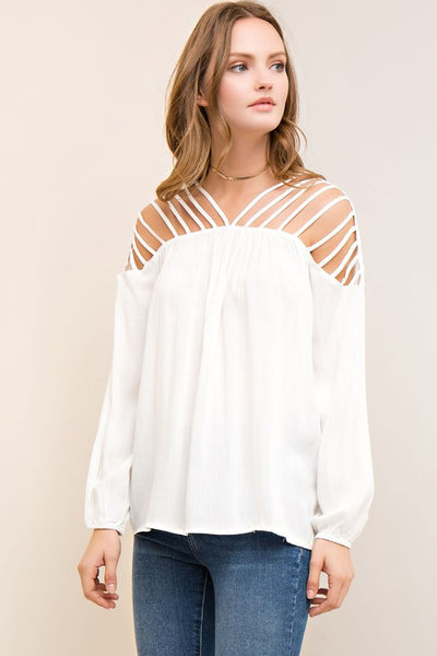 White_Top_Entro_Unhinged_Boutique_Free_Shipping