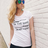 Toes In The Sand Tee