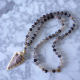 Roma Arrowhead Necklace