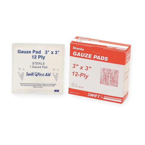 "North 3""x 3"" Gauze Pads, 10ct"