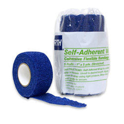 "North Self-Adherent Wrap, 1""x 5 yds."