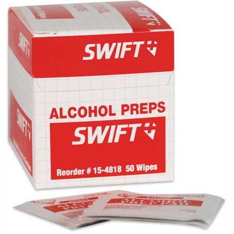 North Alcohol Wipes, 50ct