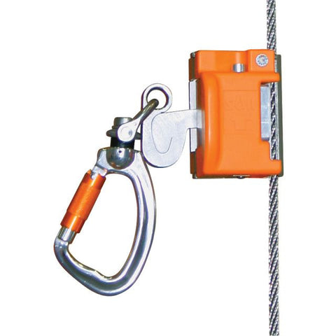 Miller Vi-Go Automatic Pass-Through Cable Sleeve w/Integral Swivel & Carabiner