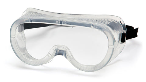 Pyramex Perforated Goggles (Clear)