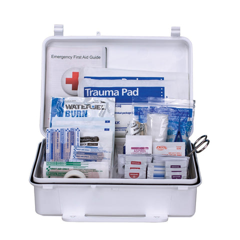 Pac-Kit Unitized First Aid Kit, Plastic Case
