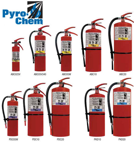 Pyro-Chem ABC Stored Pressure Fire Extinguishers
