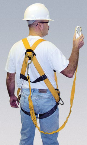 an Readyworker Fall Protection Kits w/a full-body harness ...
