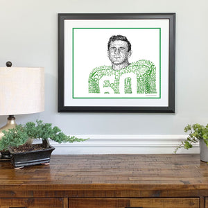 1960 Philadelphia Eagles Gift Framed