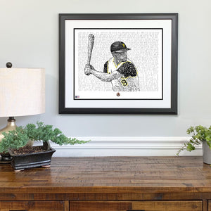 1960 Pittsburgh Pirates Gift Framed
