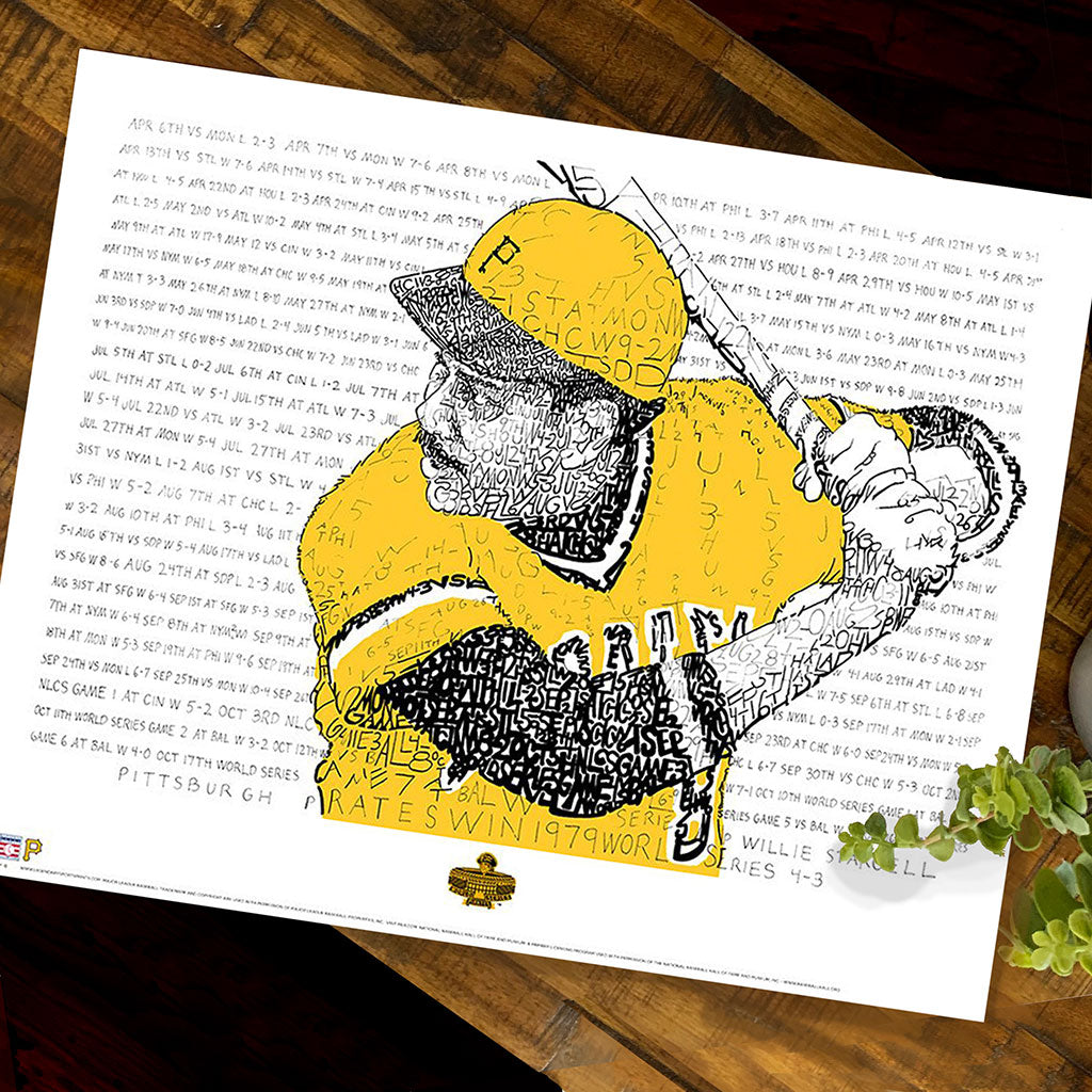 1979 Pittsburgh Pirates World Series Wall Art