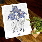 2016 Chicago Cubs World Series Decor