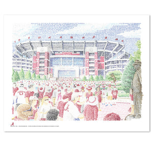 Alabama Crimson Tide Decor