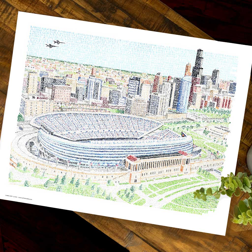 Chicago Bears Soldier Field Poster
