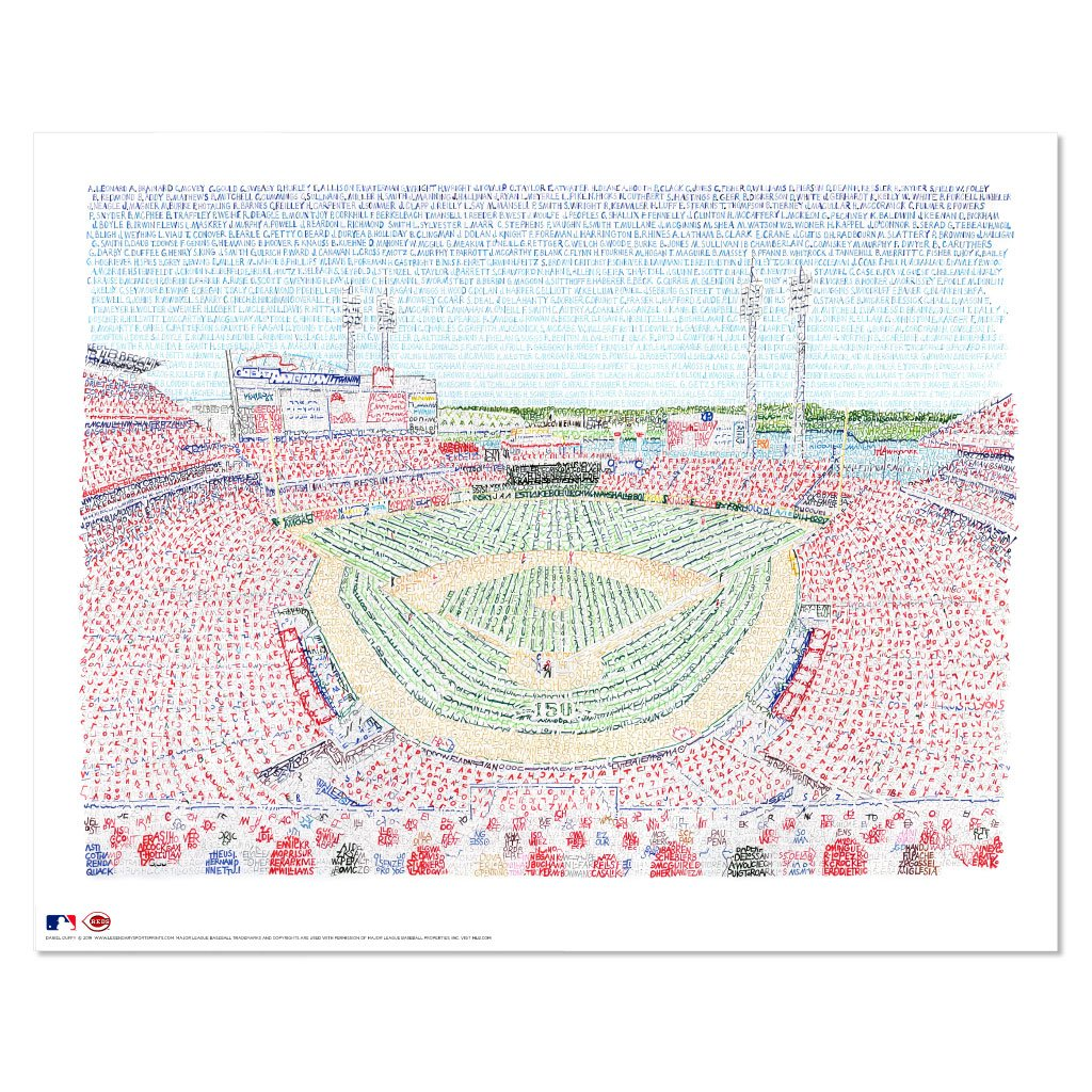 Cincinnati Reds Decor