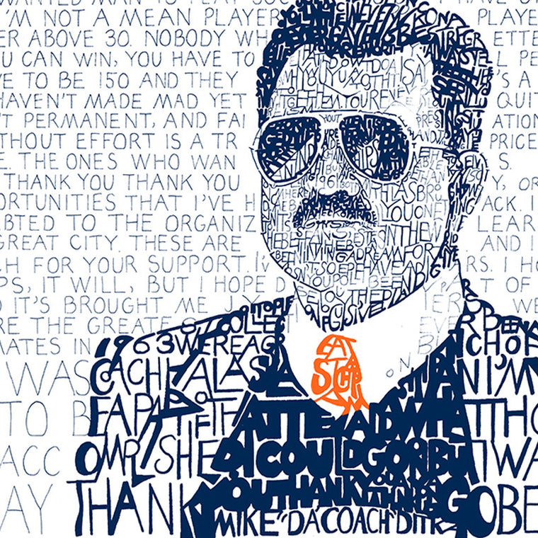 Mike Ditka Word Art