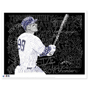 New York Yankees Aaron Judge Decor by Dan Duffy
