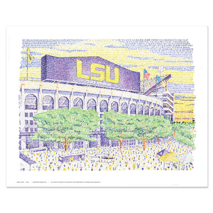 LSU Decor