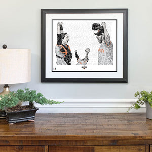2014 San Francisco Giants World Series Gift Framed