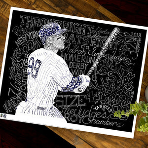New York Yankees Aaron Judge Poster