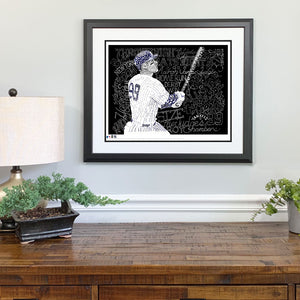 New York Yankees Aaron Gift Framed