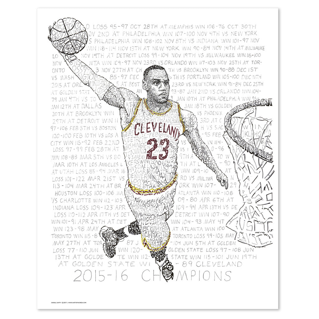 Cleveland Cavaliers – LeBron James Gift