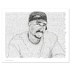 2Pac Poster