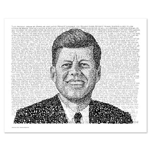 President John F Kennedy Wall Decor Poster