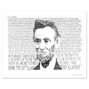 President Abraham Lincoln Wall Decor