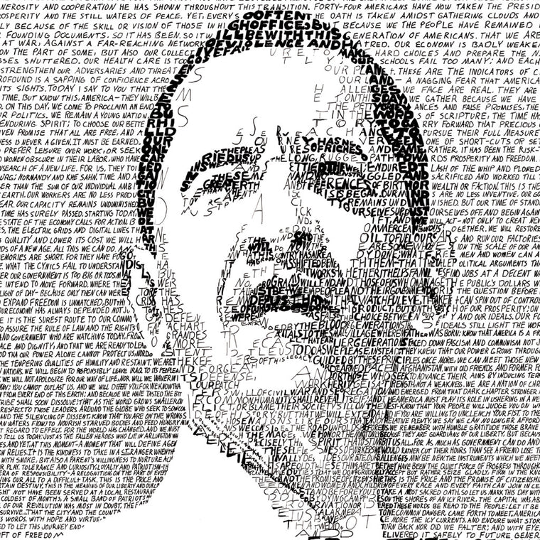 President Barack Obama Wall Art Print