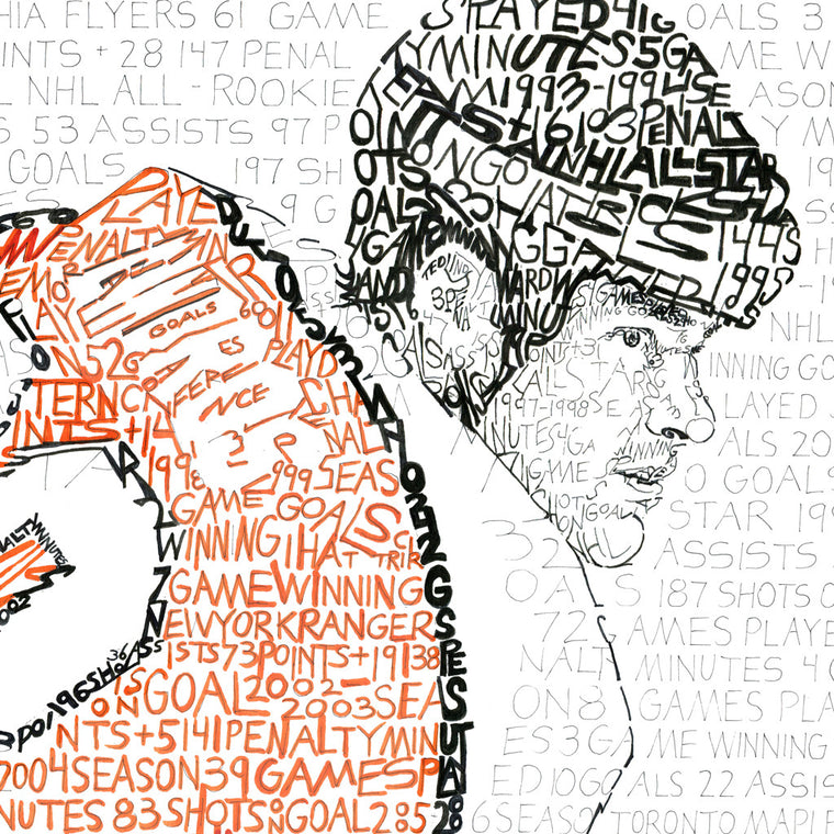 Philadelphia Flyers Eric Lindros Wall Art Gifts