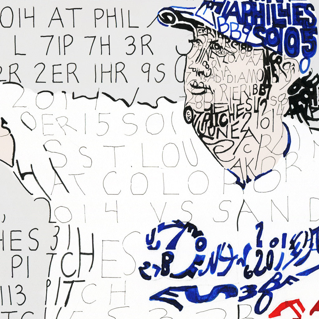 Los Angeles Dodgers Clayton Kershaw Decor