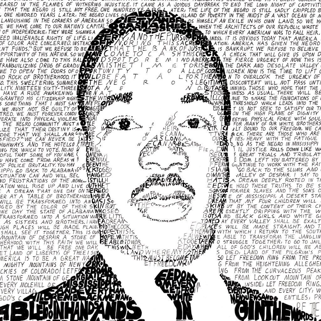 i have a dream a speech by martin luther king jr As americans celebrate martin luther king jr day, a look back at one of his most famous speeches.