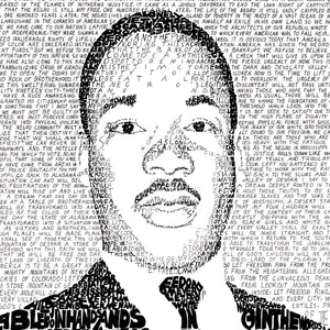 Martin Luther King I Have A Dream Wall Art Poster