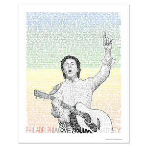 Paul McCartney Wall Art