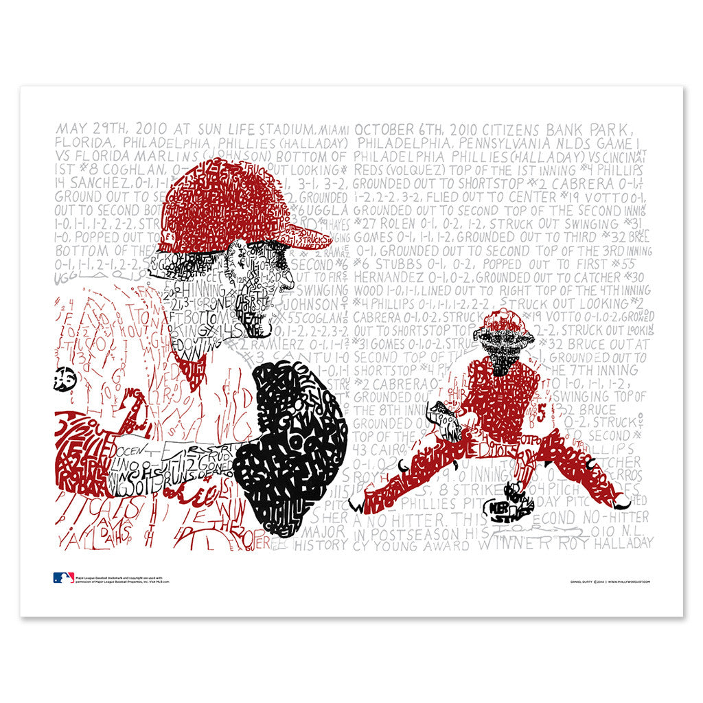 Philadelphia Phillies Roy Halladay Decor