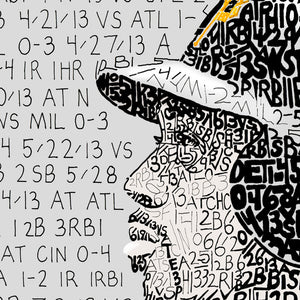 Pittsburgh Pirates Andrew Mccutchen Word Art