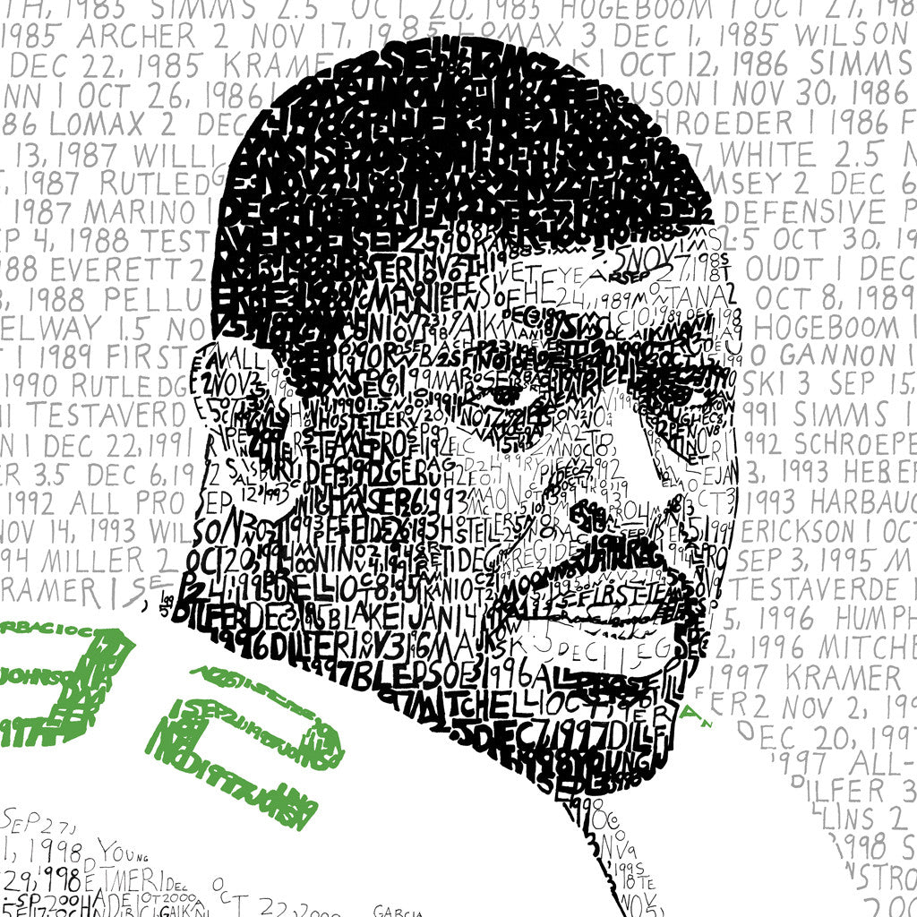 Philadelphia Eagles Reggie White Wall Art Poster