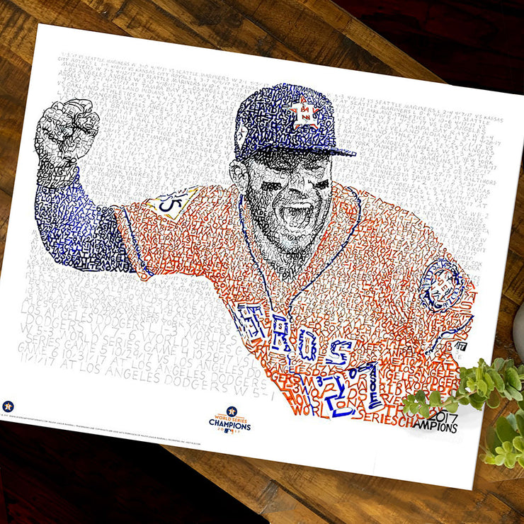 Houston Astros Jose Altuve Decor