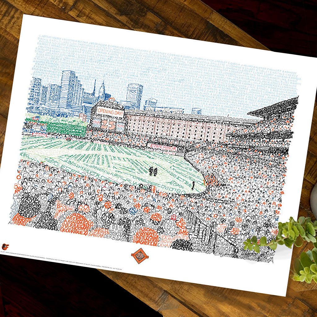 Baltimore Orioles Camden Yards Decor