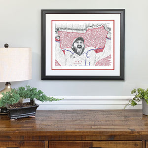 Washington Capitals 2018 Stanley Cup Gift Framed