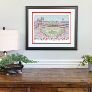 Philadelphia Phillies Citizens Bank Park Gift Framed