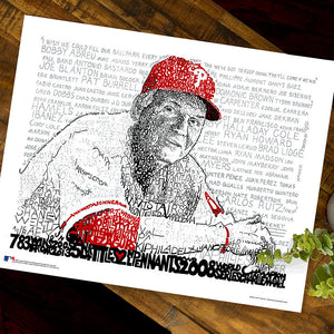 Philadelphia Phillies Charlie Manuel Decor