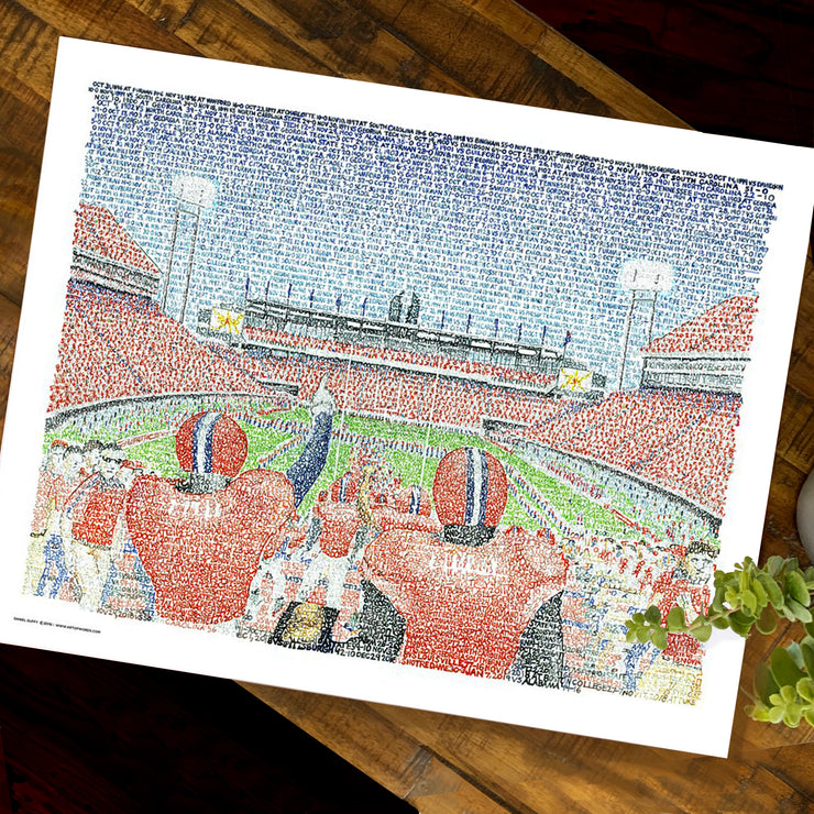 Memorial Stadium Clemson Tigers Decor