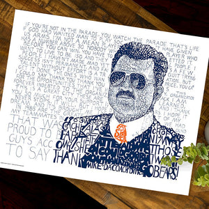 Mike Ditka Chicago Bears Decor