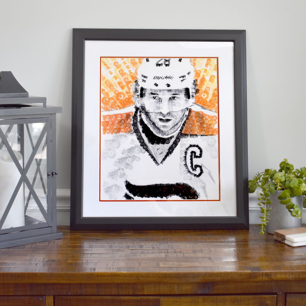 Claude Giroux Stamp Art - Original
