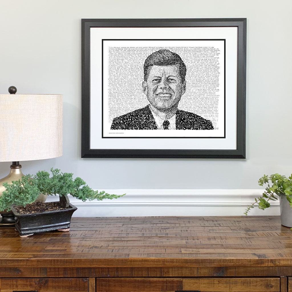 JFK Gift Framed