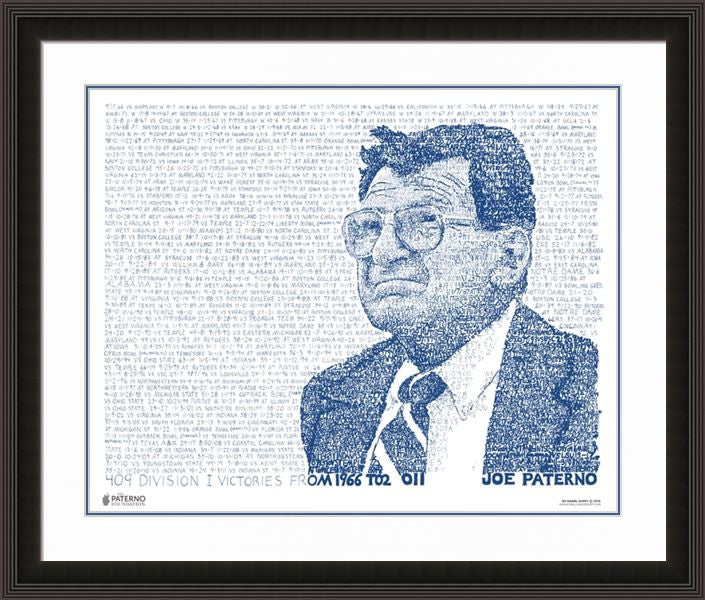 "Paterno 409 Word Art Print - 16"" x 20"""