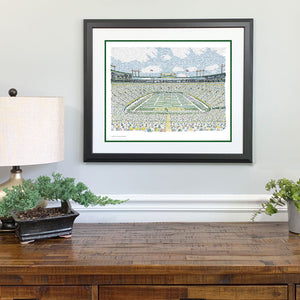 Green Bay Packers Gift Framed