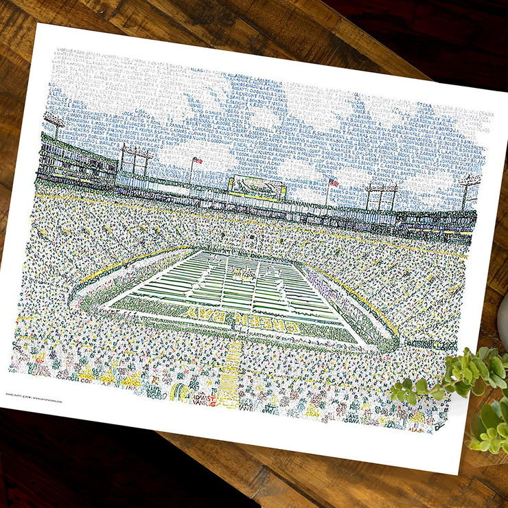 Green Bay Packers Decor